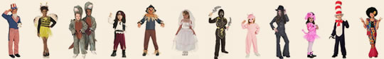 Costumes for all School Occasions