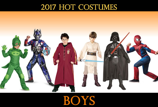 2017 Top Boys Costumes