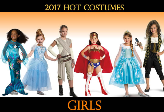 2017 Top Girls Costumes