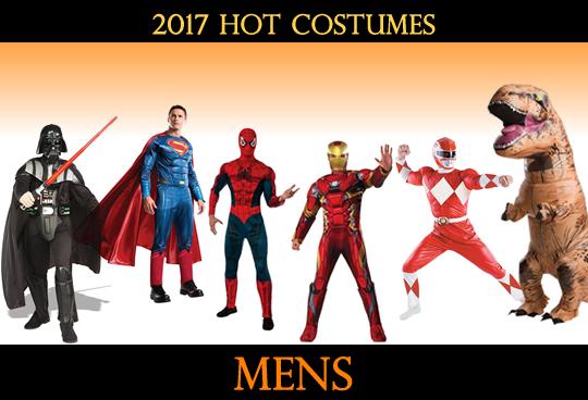 2017 Top Mens Costumes