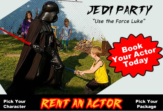 Rent An Actor Jedi Party